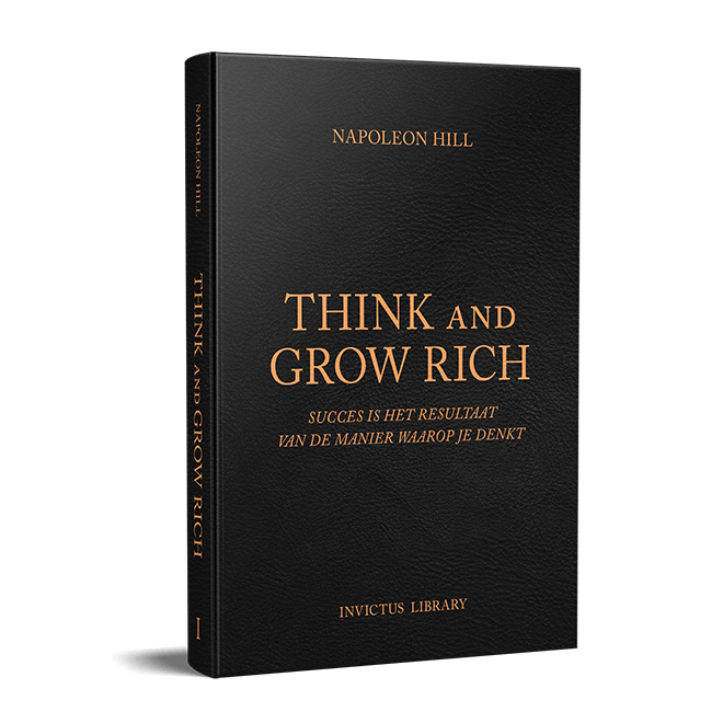 Boek Think and Grow Rich Nederlands Michael Pilarczyk